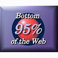 Bottom 95% of the Web logo