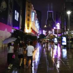 Shanghai In The Rain