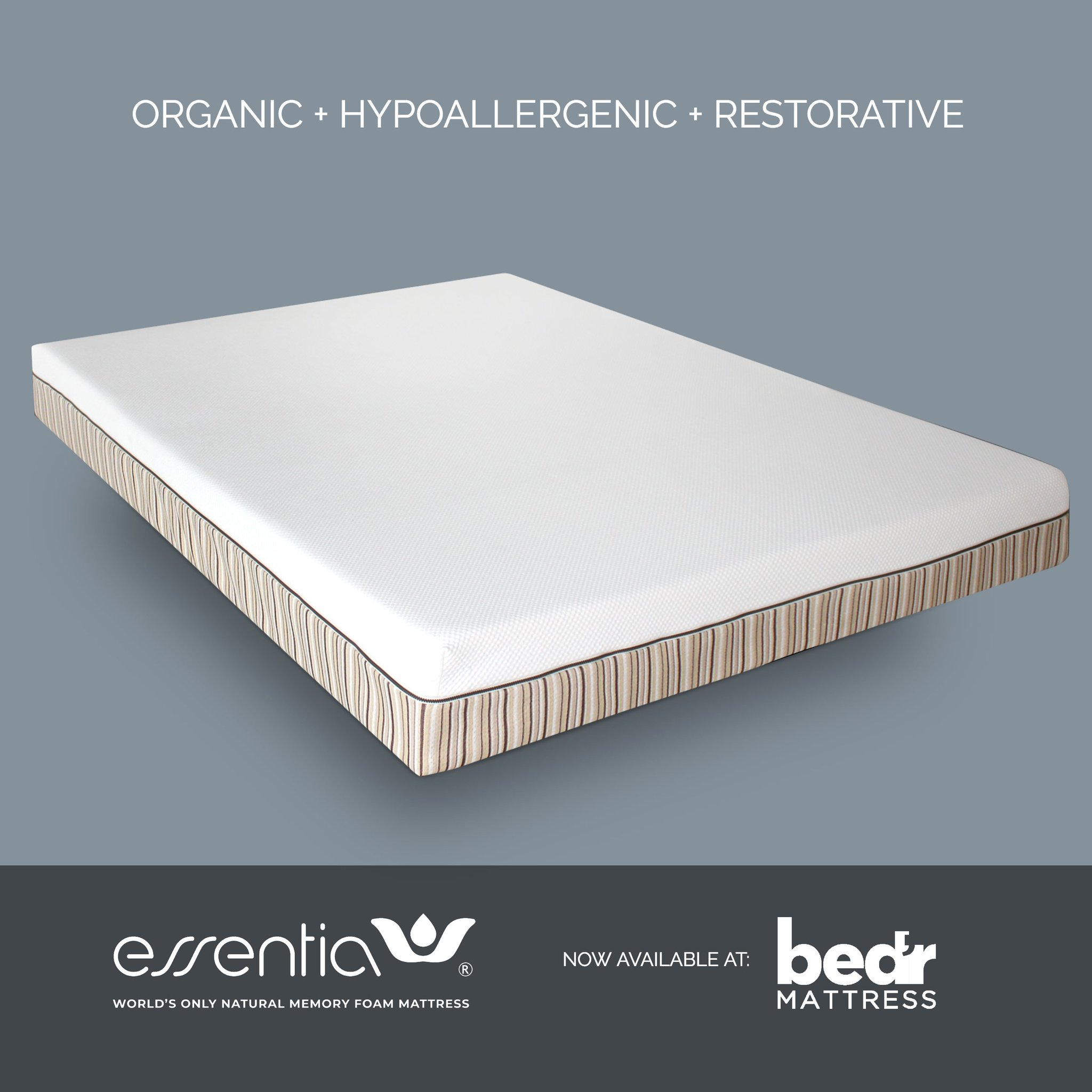 The Mattress Company Essentia Organic Mattresses Now Available At Bed R Mattress