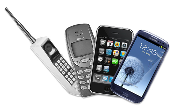 Mobile phones now and then - a little history lesson mysms blog