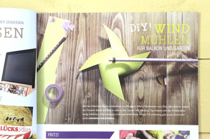 LoveMag #2 DIY Windmühlen