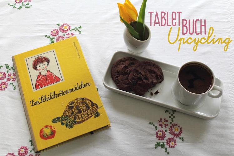 Buch-Hülle für Tablet oder E-Reader {DIY}