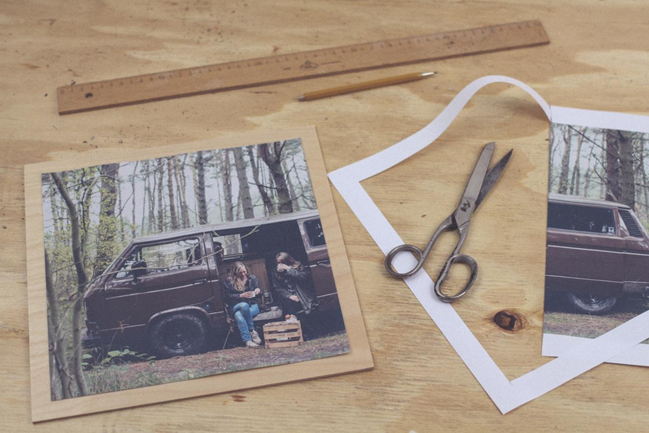 Diy Holzmöbel Diy Photo Transfer Onto Furniture Fototransfer Auf