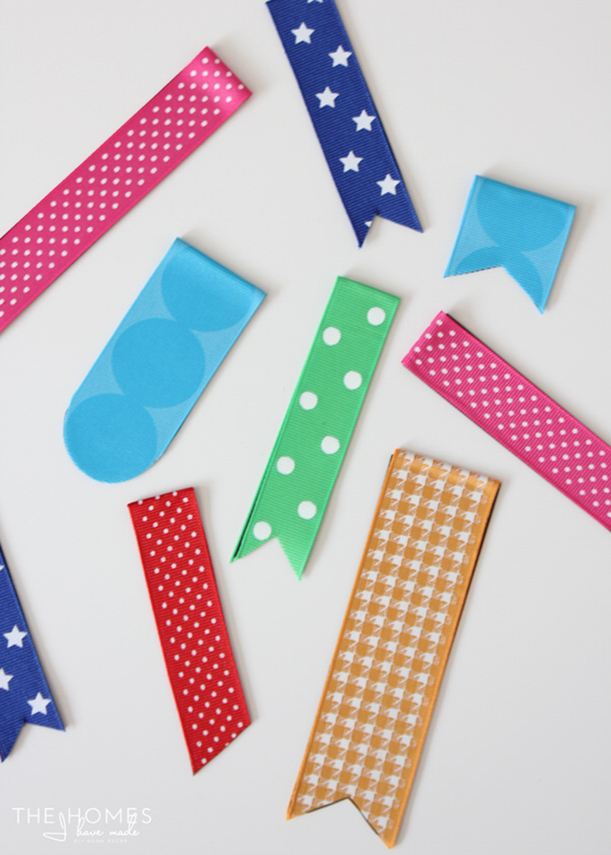 Magnetic Ribbon Bookmarks -
