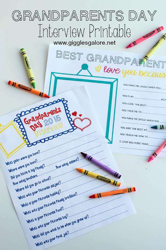 Celebrating Grandparents Day -