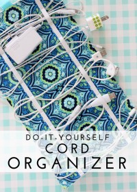DIY Travel Cord Organizer