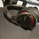 SONY Bluetooth対応ワイヤレスヘッドセット MDR-1RBTを購入したので開封の儀