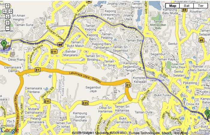 google-map-shangri-la