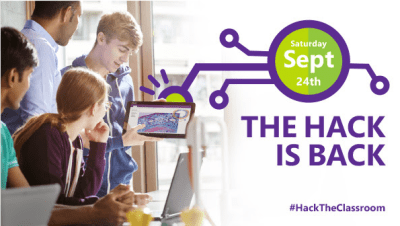 Hack the Classroom is BACK this Saturday!