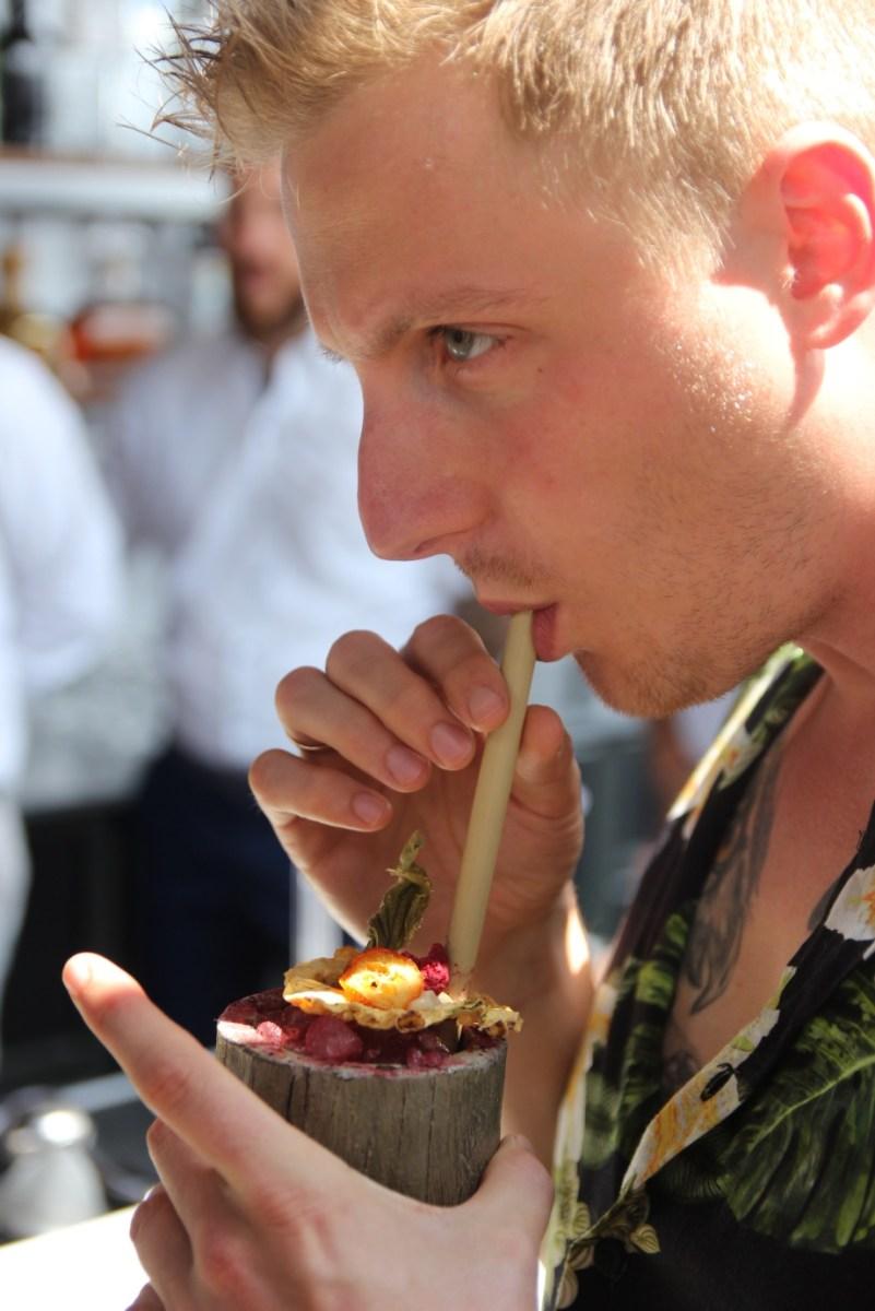 Matthias Soberon tasting