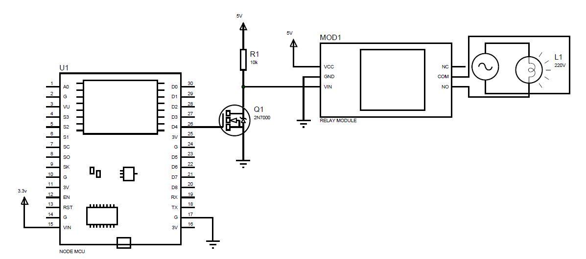 relay ldr circuit