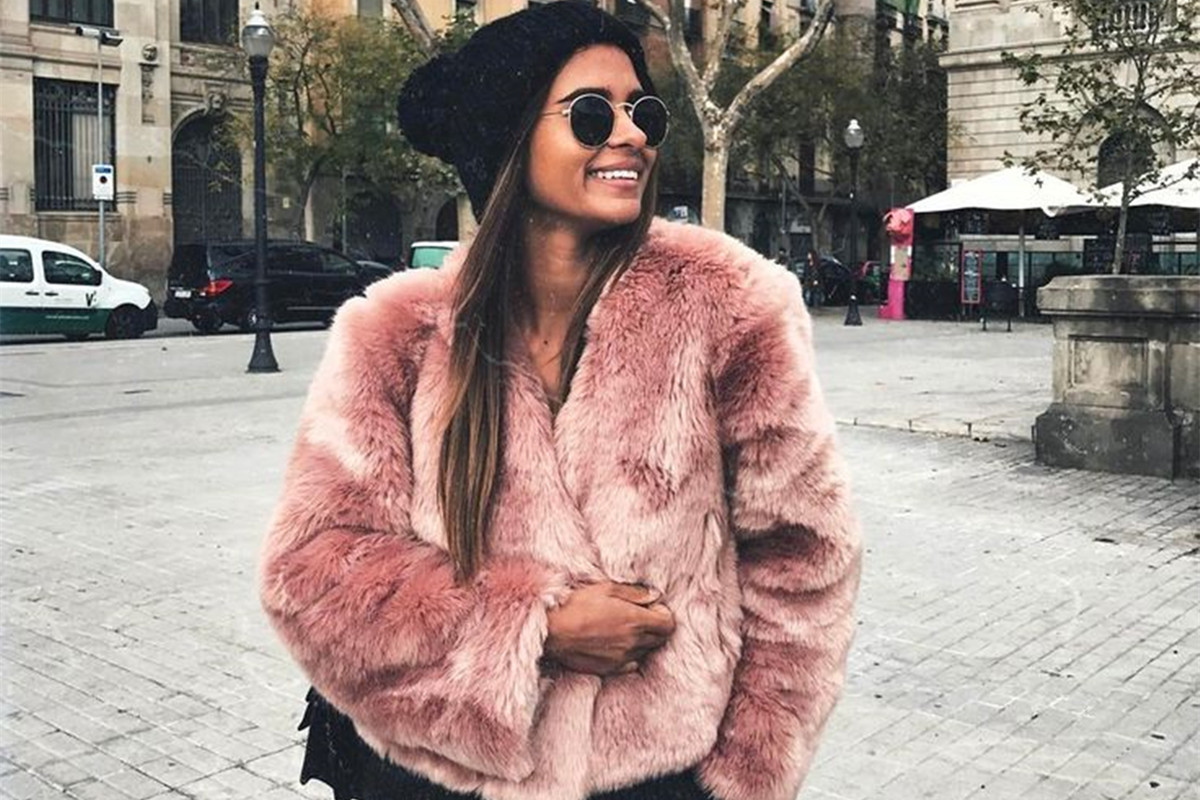 Girls Pink Fur Boots - Ivoiregion 99617652b