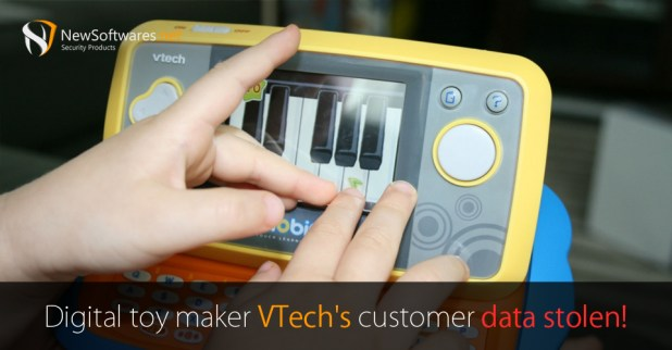 Digital-toy-maker-VTech's-customer-data-stolen!