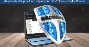 Maintain bullet-proof security of your filesfolders - Folder Protect