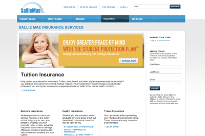 Sallie Mae Launches New Website | Next Generation Insurance Blog