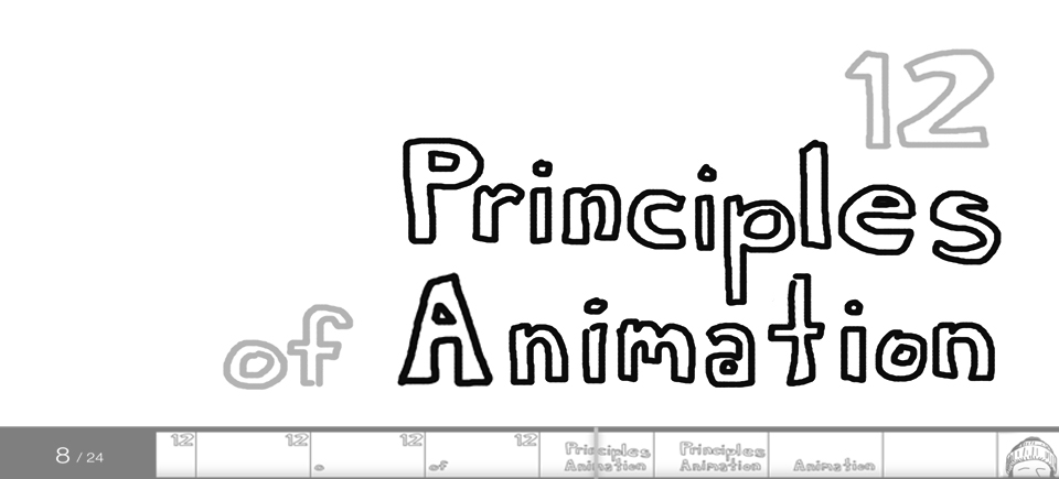 The 12 principles of animation - NFB Blog - animation title