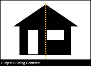 Building centered