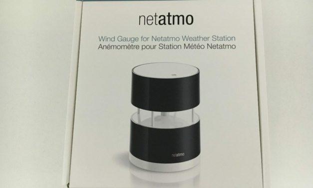 A relire notre Test de l'anémomètre Netatmo