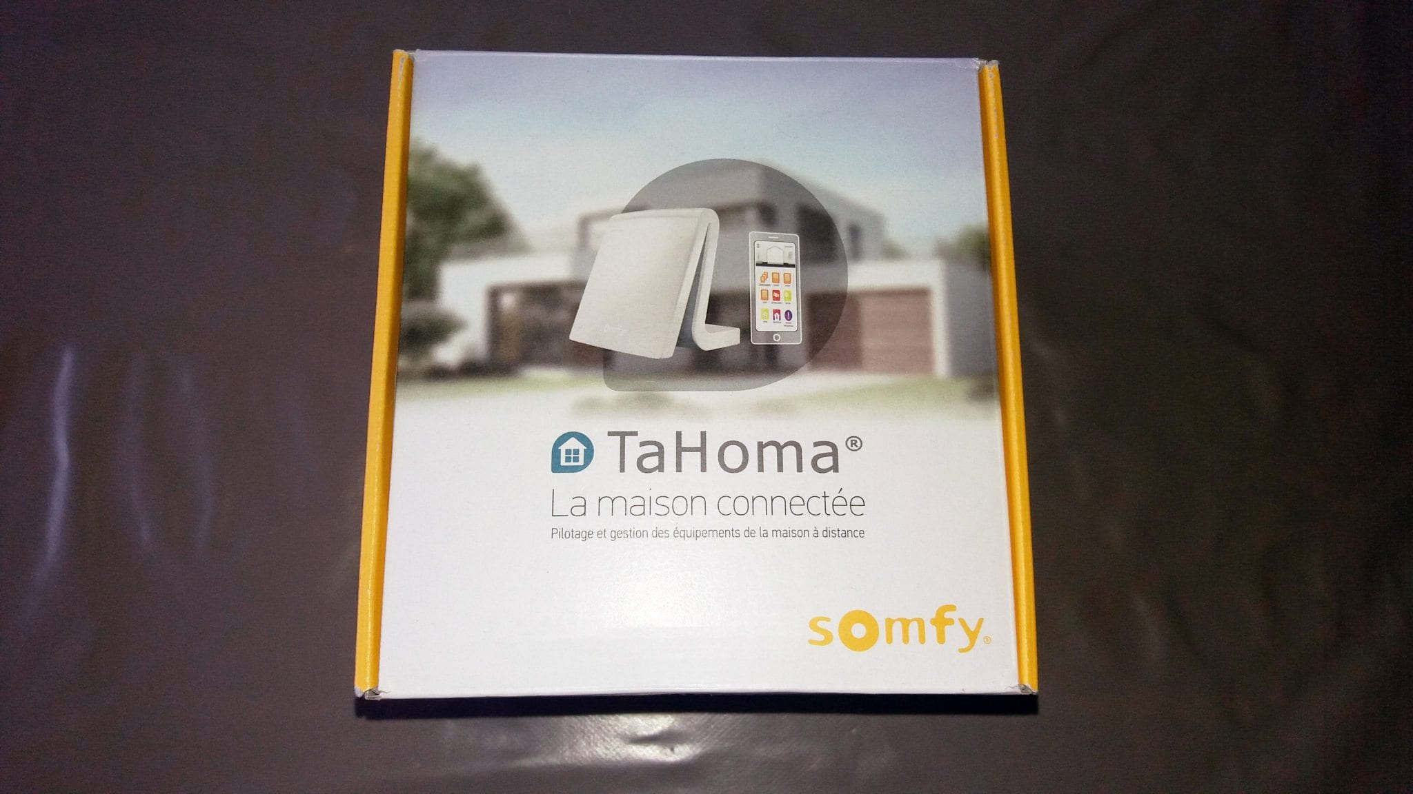 Domotique Facile Tahoma Une Box Domotique By Somfy