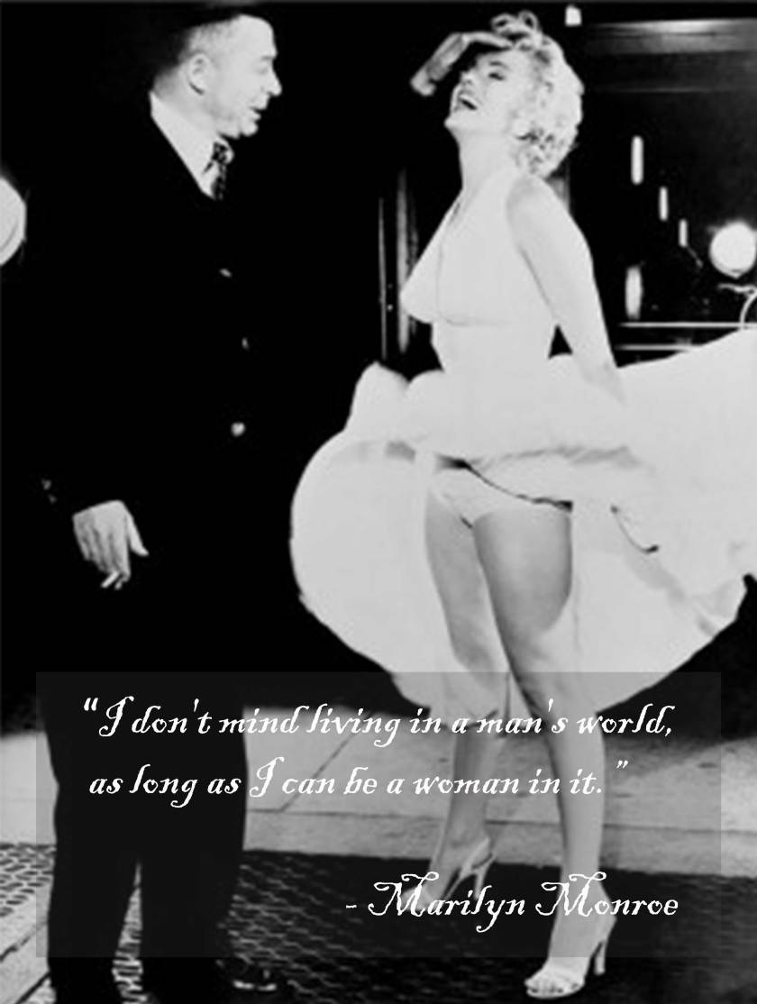 Monroe with Billy  Wilder for Seven Year Itch by Frank Worth