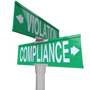canstockphoto18625424 compliance street sign
