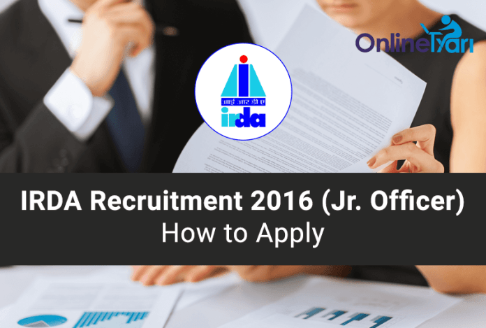IRDA-Recruitment-2016-Exam-How-to-Apply