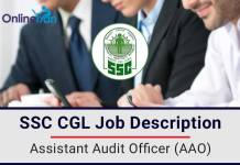 SSC-CGL-Job-Description-Assistant-Audit-Officer