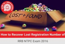 Recover-Lost-Registration-Number-RRB-NTPC