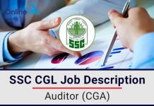 SSC CGL Auditor CGA Job Profile, Salary, Pay Scale, Career