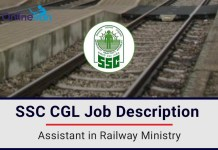 SSC-CGL-Job-Profile-Assistant-in-Railway-Ministry