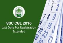 SSC CGL Registration Date