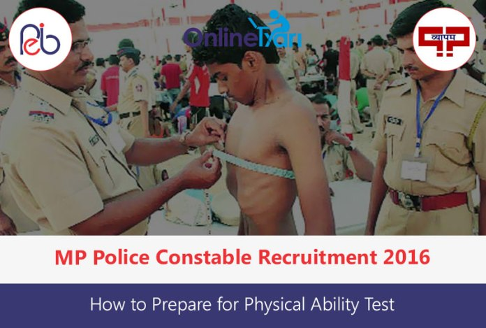 How to Prepare for MP Police Constable Physical Examination