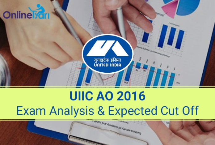 UIIC AO Exam Analysis & Expected Cut Off 12 June 2016