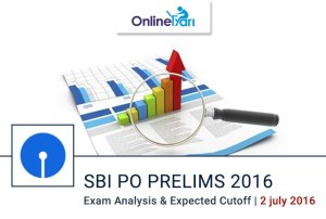 SBI PO Exam Analysis for Prelims Examination 4 July 2016