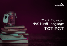 How to Prepare for NVS Hindi Language TGT PGT