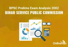 BPSC Prelims Exam Analysis 2002, Bihar Service Public Commission