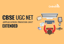 CBSE UGC NET Application Process 2017 Extended