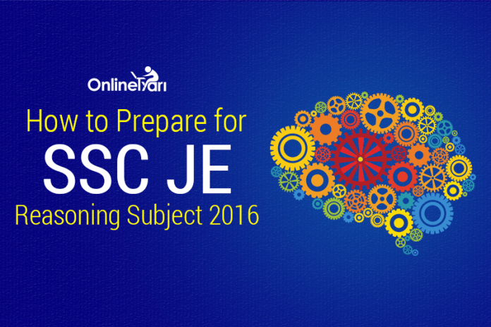 How to Prepare for SSC JE Reasoning Subject 2016