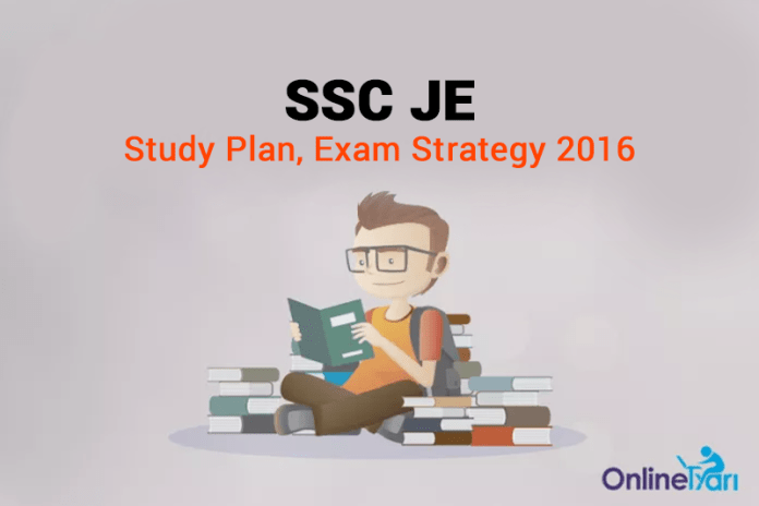SSC JE Study Plan, Exam Strategy 2016
