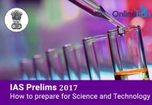 IAS Prelims 2017: How to Prepare for Science and Technology
