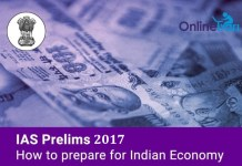 IAS Prelims 2017: How to Prepare for Indian Economy