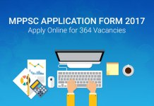 MPPSC Application Form 2017: Apply Online for 364 Vacancies