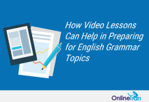 Prepare for English Grammar Topics through Video Lessons (SSC, Banks)