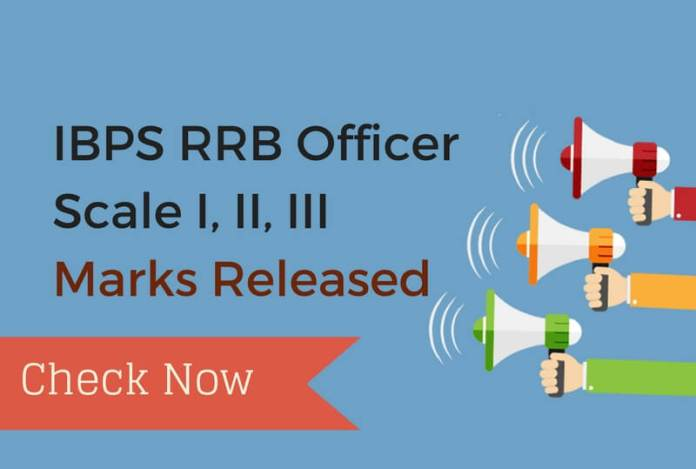 IBPS RRB Officer Score Card Released