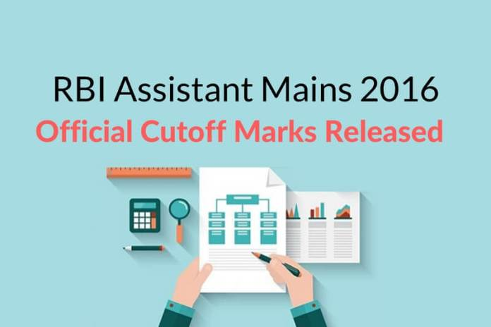 RBI Assistant Mains 2016 Cut Off Declared: Check State Wise Score