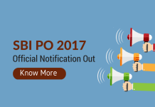 SBI PO 2017 Notification Out: Important Dates, Online Application