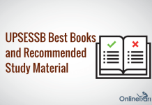 UPSESSB Exam Best Books and Recommended Study Material