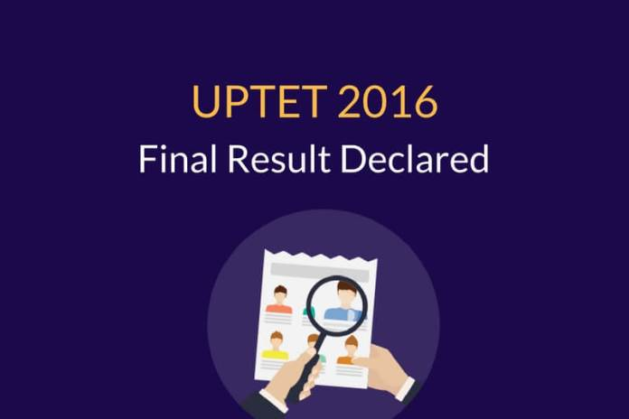 UPTET 2016 Result Declared- Check your Marks here!