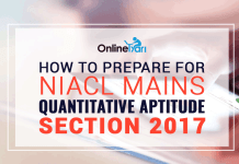 How to Prepare for NIACL Mains Quantitative Aptitude Section 2017