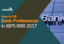 How to Fill Bank Preferences in IBPS RRB 2017: Assistant, Officer Scale I,II,III